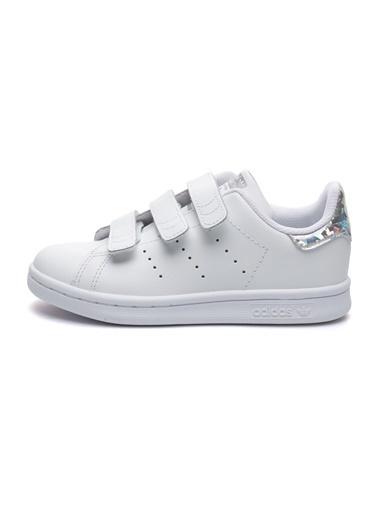 adidas Adidas Çocuk Günlük Spor Ayakkabı Stan Smith Cf C Ee8484 Beyaz